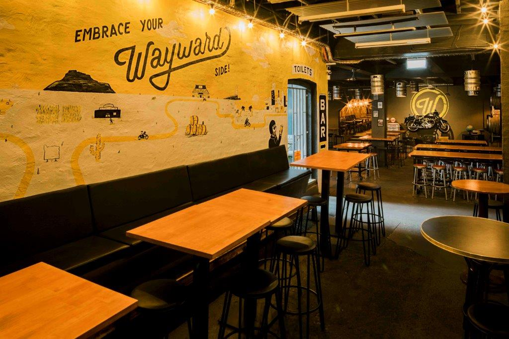 Wayward Brewing Co. Cellar Bar – Bars