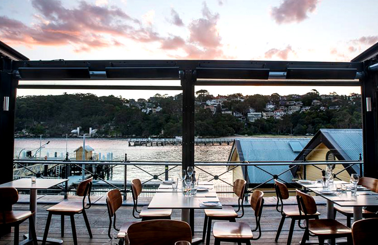 best-sydney-restaurants-father's-day-dad-family-friends-drinks-food-ripples-chowder-bay-water