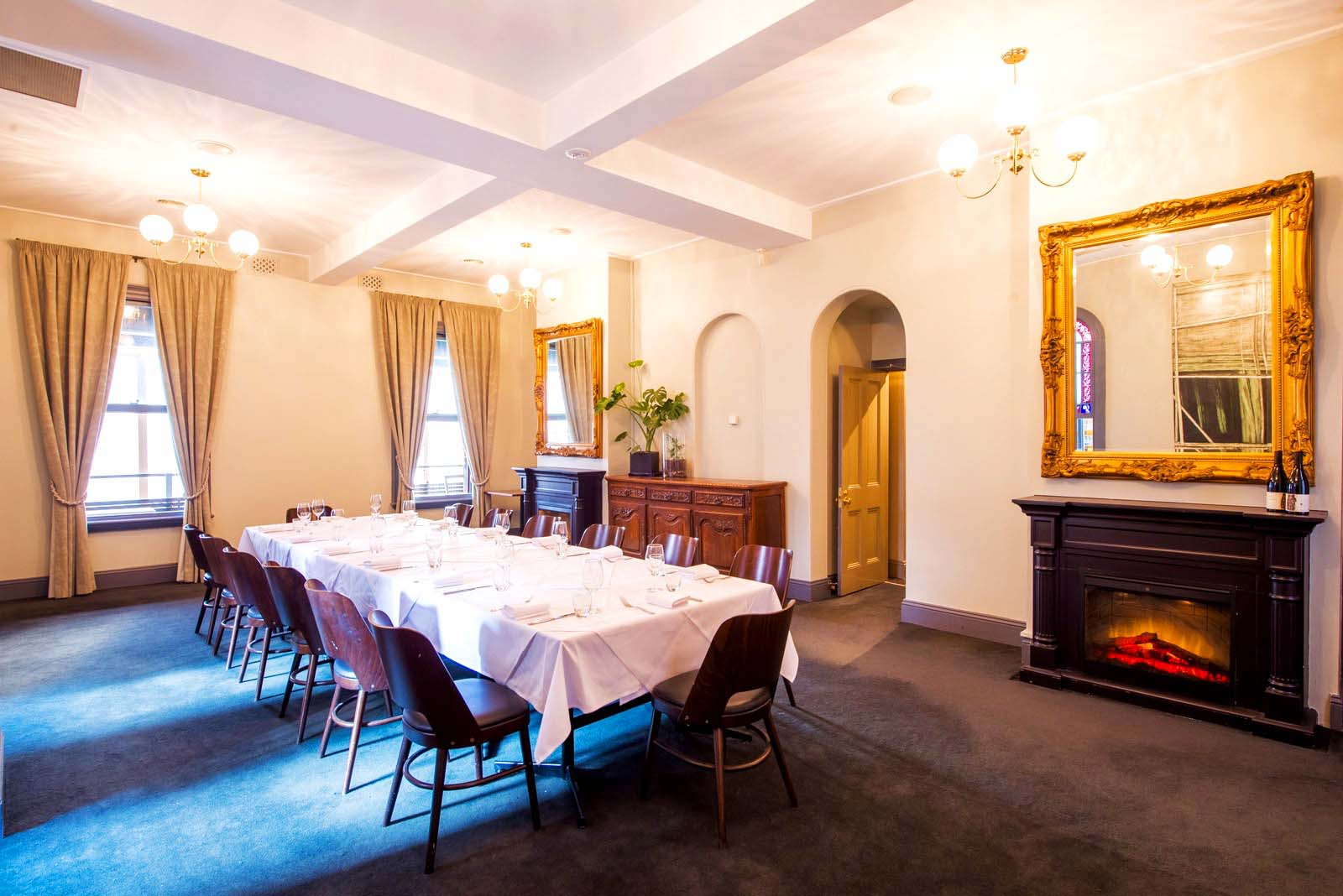 Collins quarter unique cbd venue hire hidden city secrets for Dining room 211 melbourne