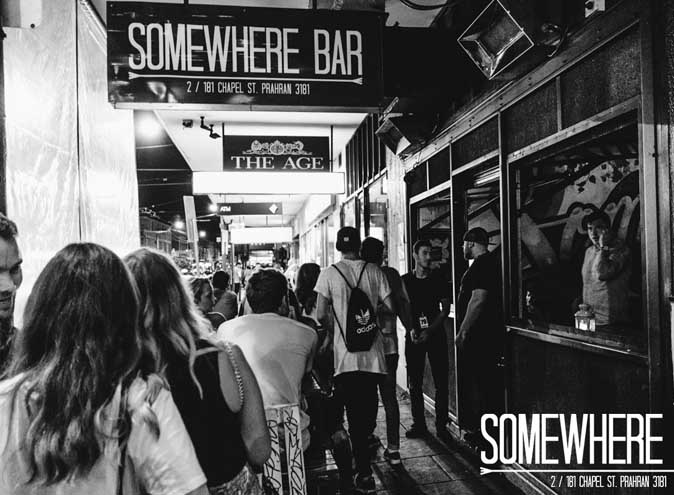 Somewhere Bar <br/> Cool Chapel St Bars