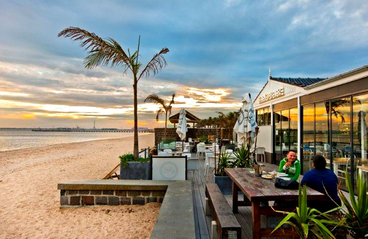 Sandbar - Beach - Bar - Cafe - Best - Top - Melbourne - Port Melbourne - Restaurant - Waterfront