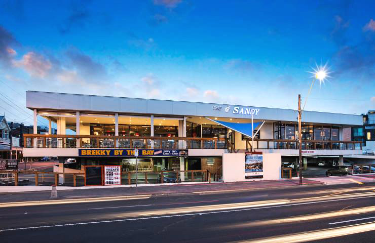 Sandringham hotel - Beach - Bar - Restaurant - Best - Top - Melbourne - Waterfront