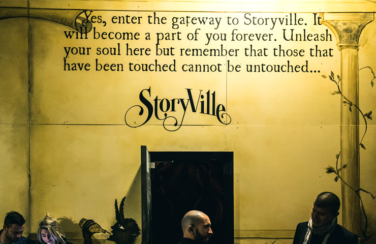 Storyville – Unique Cocktail Bar