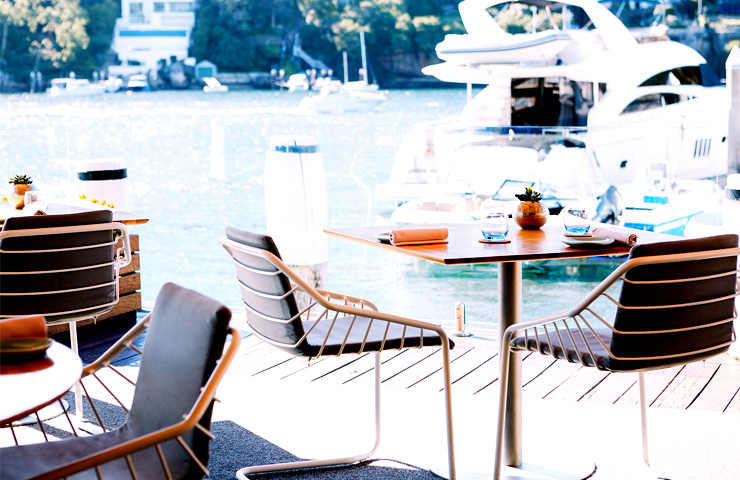 Top-Best-Good-Waterfront-Venues-Sydney-Ormeggio-Fine-Dining-Food-Bar-Sydney-Harbour