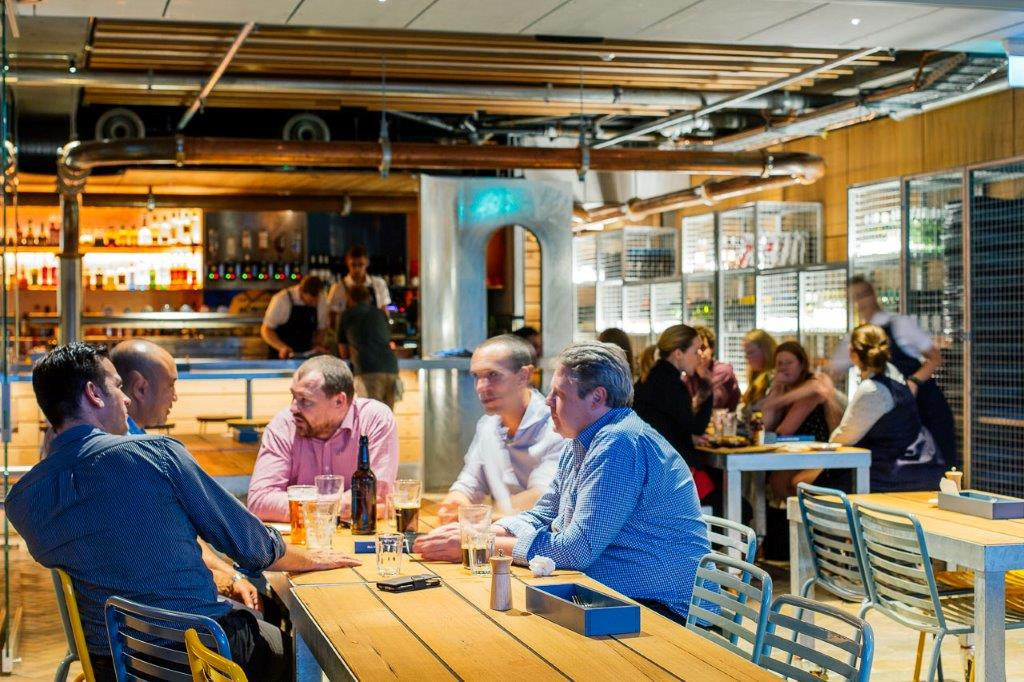 All Hands Brewing House – Outdoor Dining