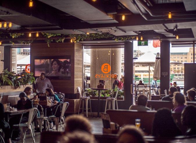 Buckley's <br/> Restaurants On The Harbour