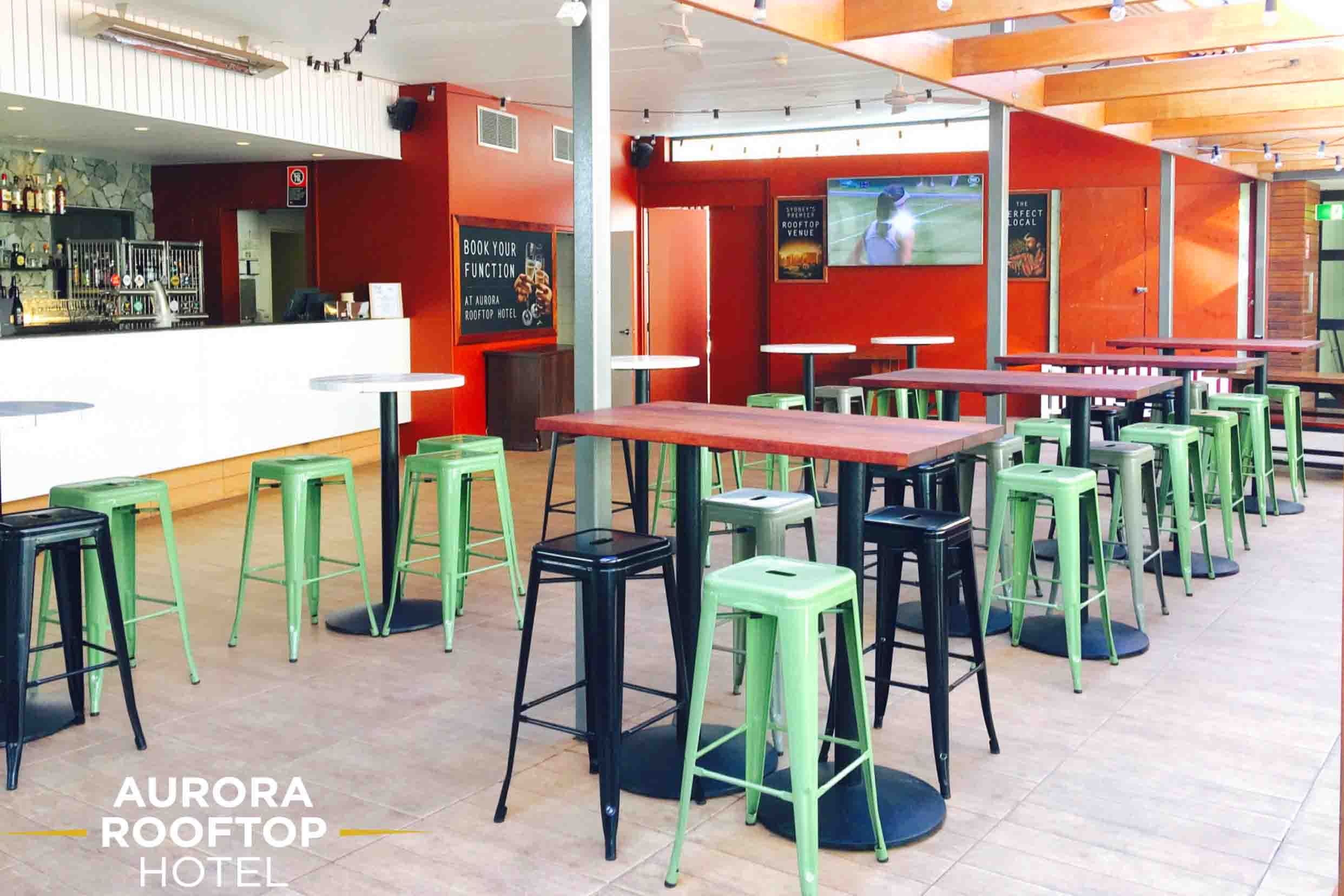 Aurora Rooftop Hotel – Sports Bars