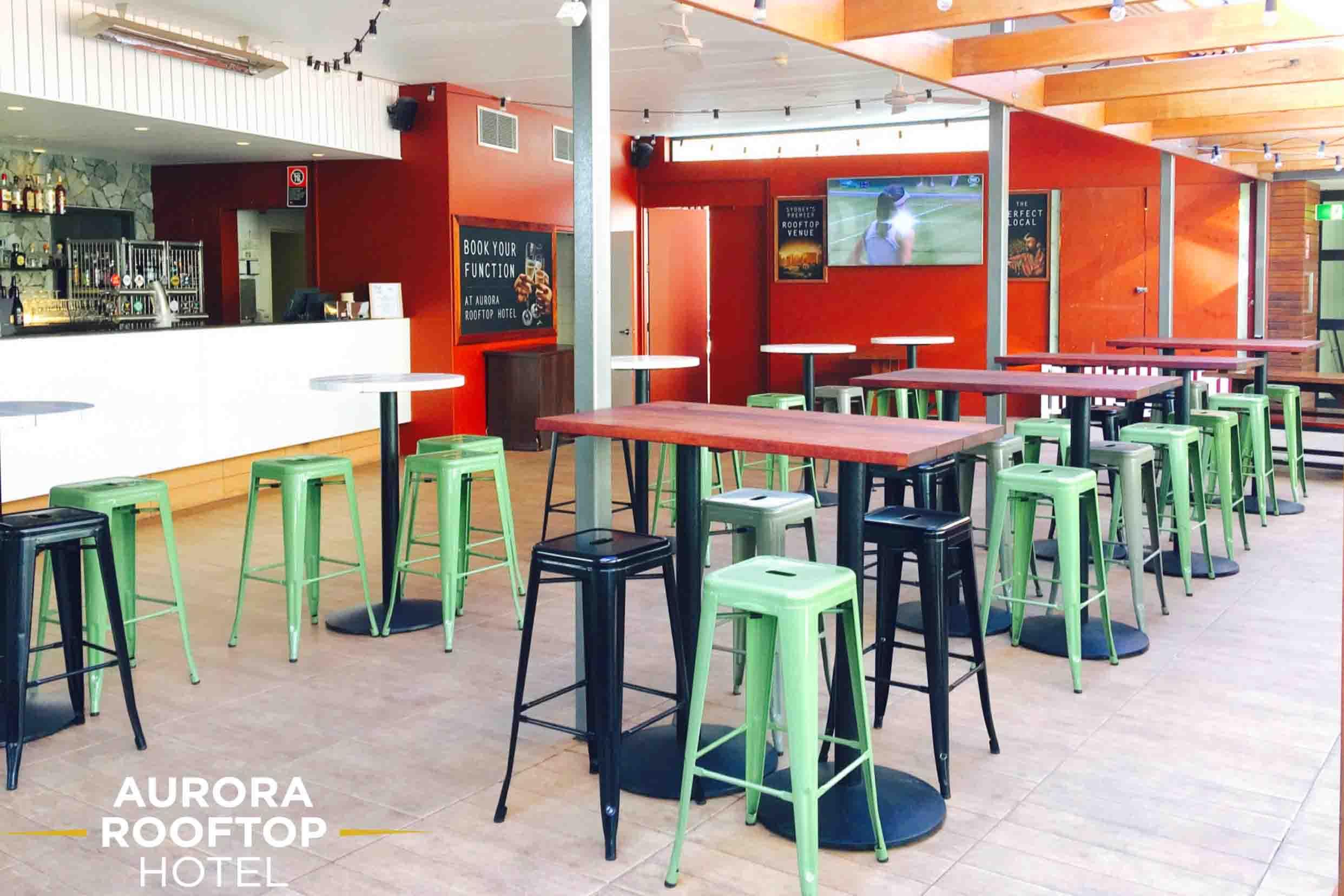 Aurora Rooftop Hotel – Terrace Venues
