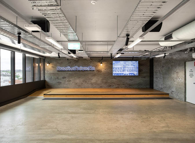 MicDrop Richmond <br/> Blank Canvas Function Rooms
