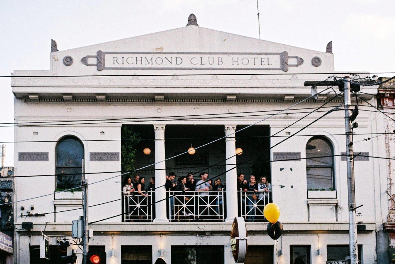 Richmond Club Hotel </br> Rooftop Pubs