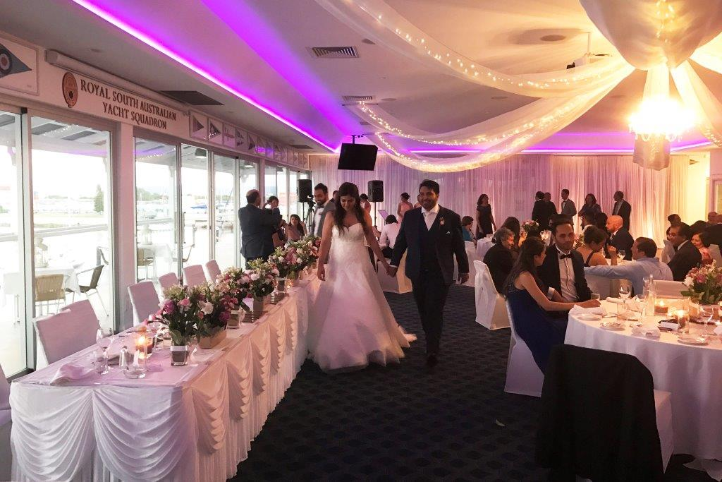Royal SA Yacht Squadron – Waterfront Venues