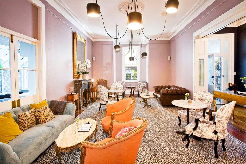 The hughenden boutique hotel unique bars hidden city for Best boutique hotels sydney