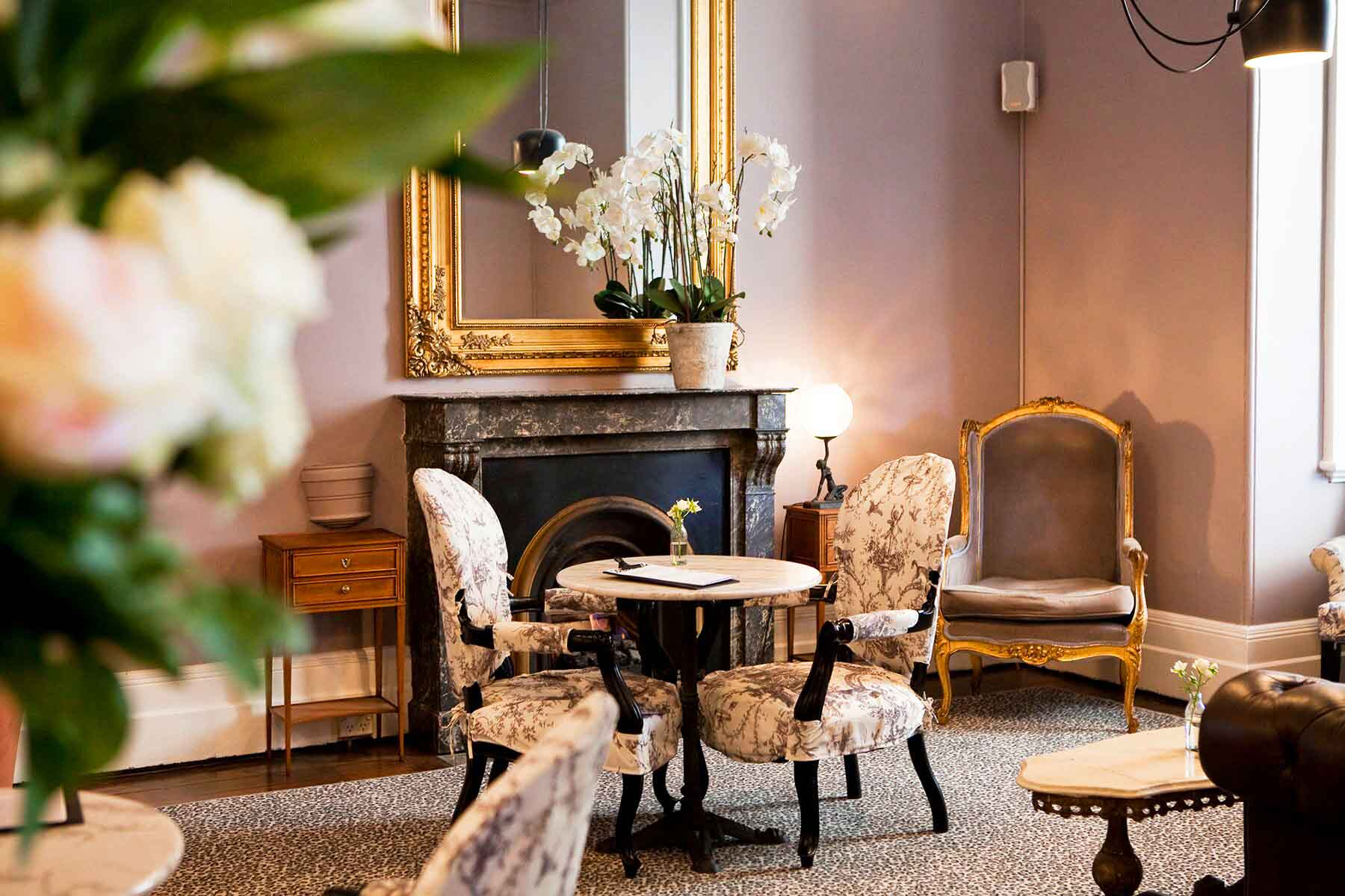 The Hughenden Boutique Hotel <br/> Chic Function Rooms