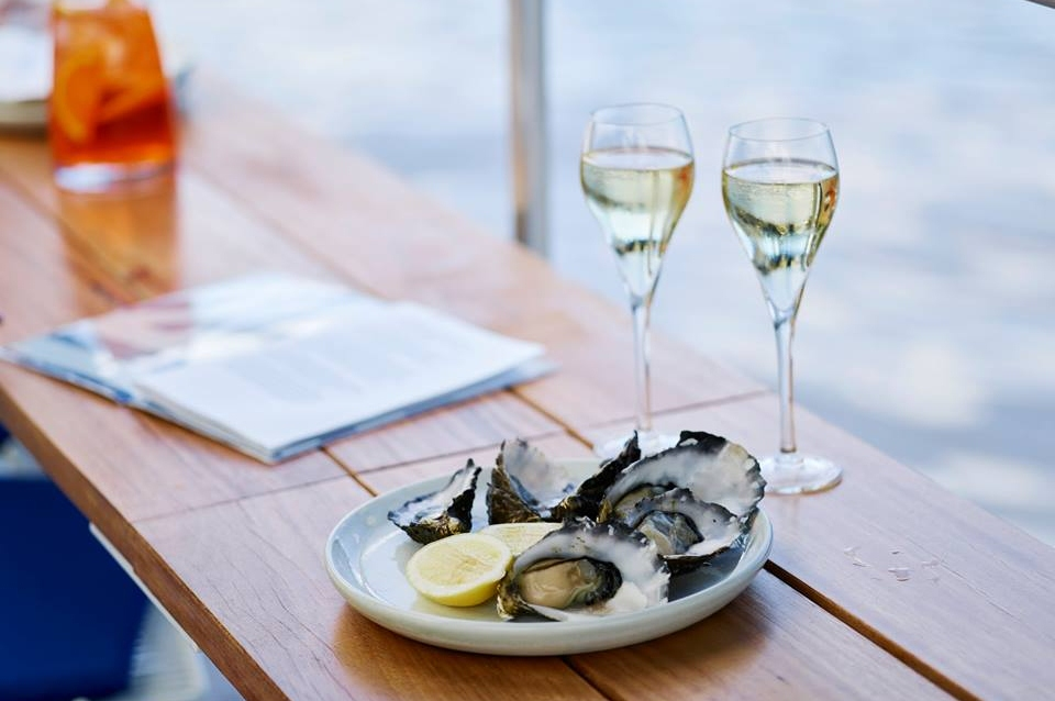 Arbory-Afloat-Yarra-River-Melbourne-5-Galentines-Date-Ideas-Wine-Seafood-Summer-Pontoon-Water-Warm-Good-Food