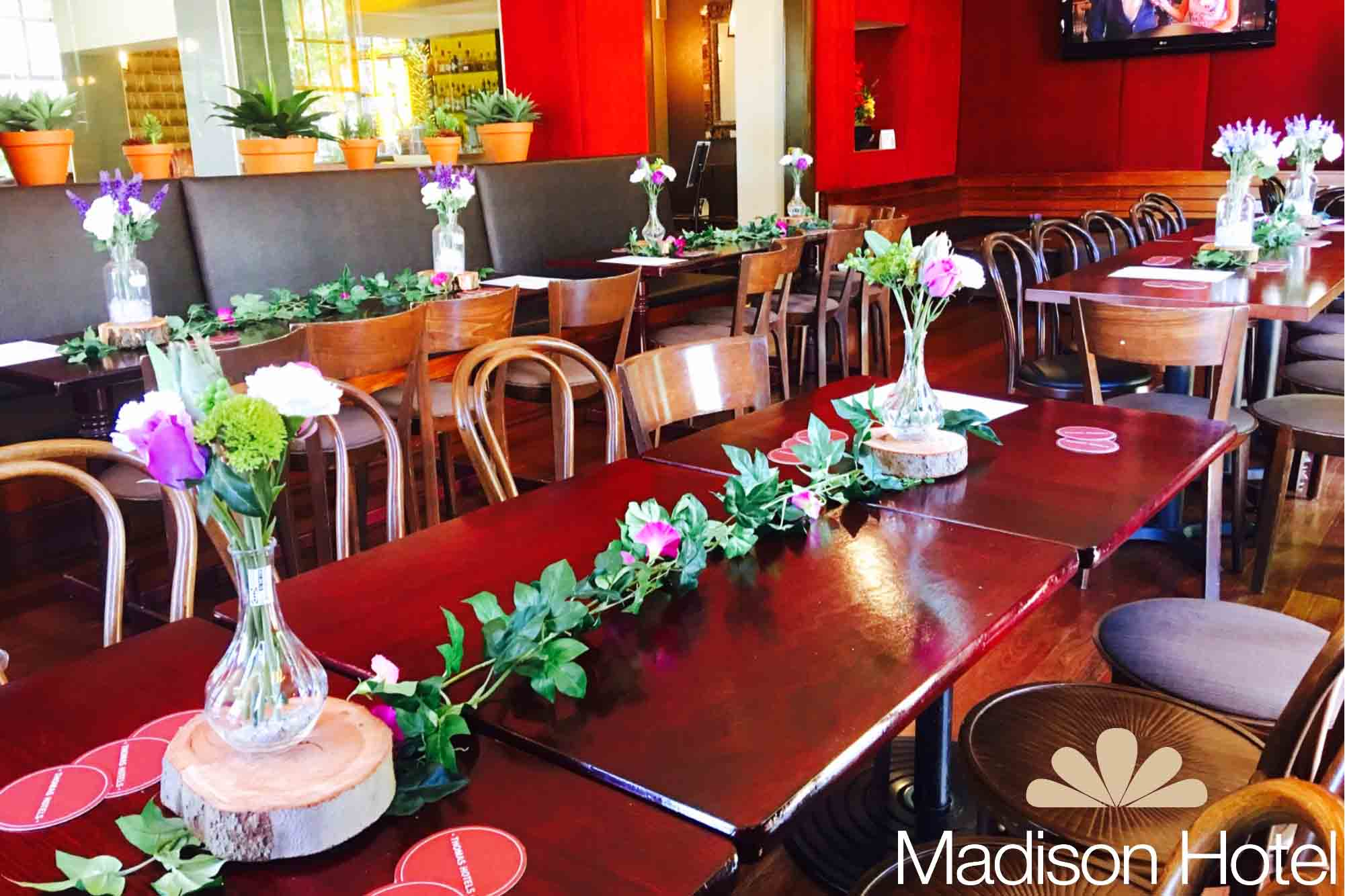 Madison Hotel – Function Rooms
