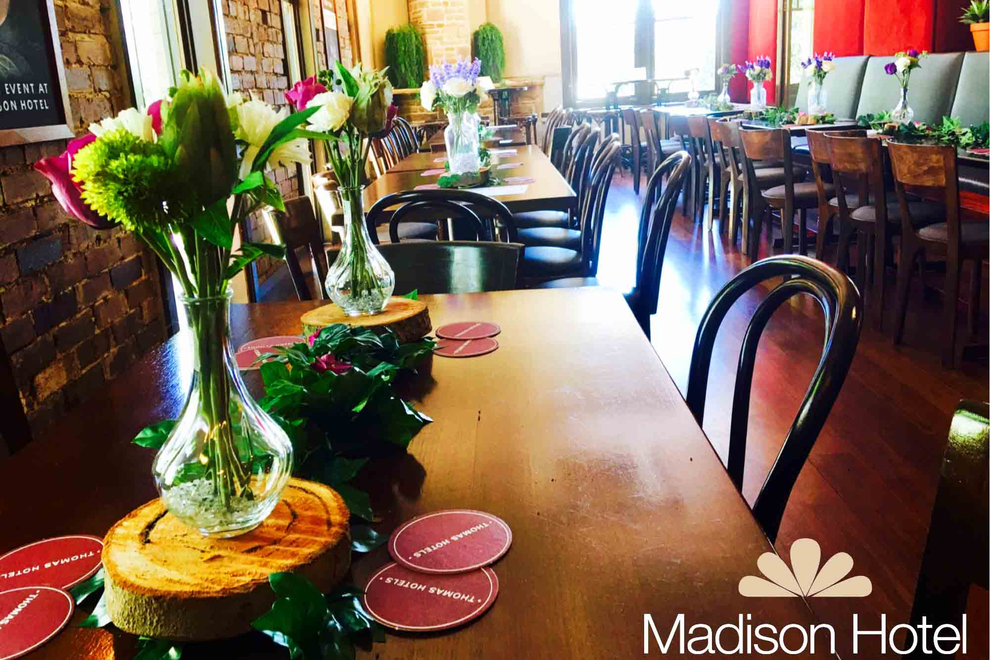 Madison Hotel – Classic Restaurants