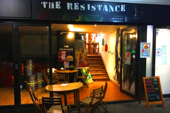 The Resistance Bar & Cafe </br> Best Burger Bars