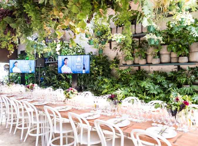 Glasshaus Inside & Outside <br/> Beautiful Party Venues