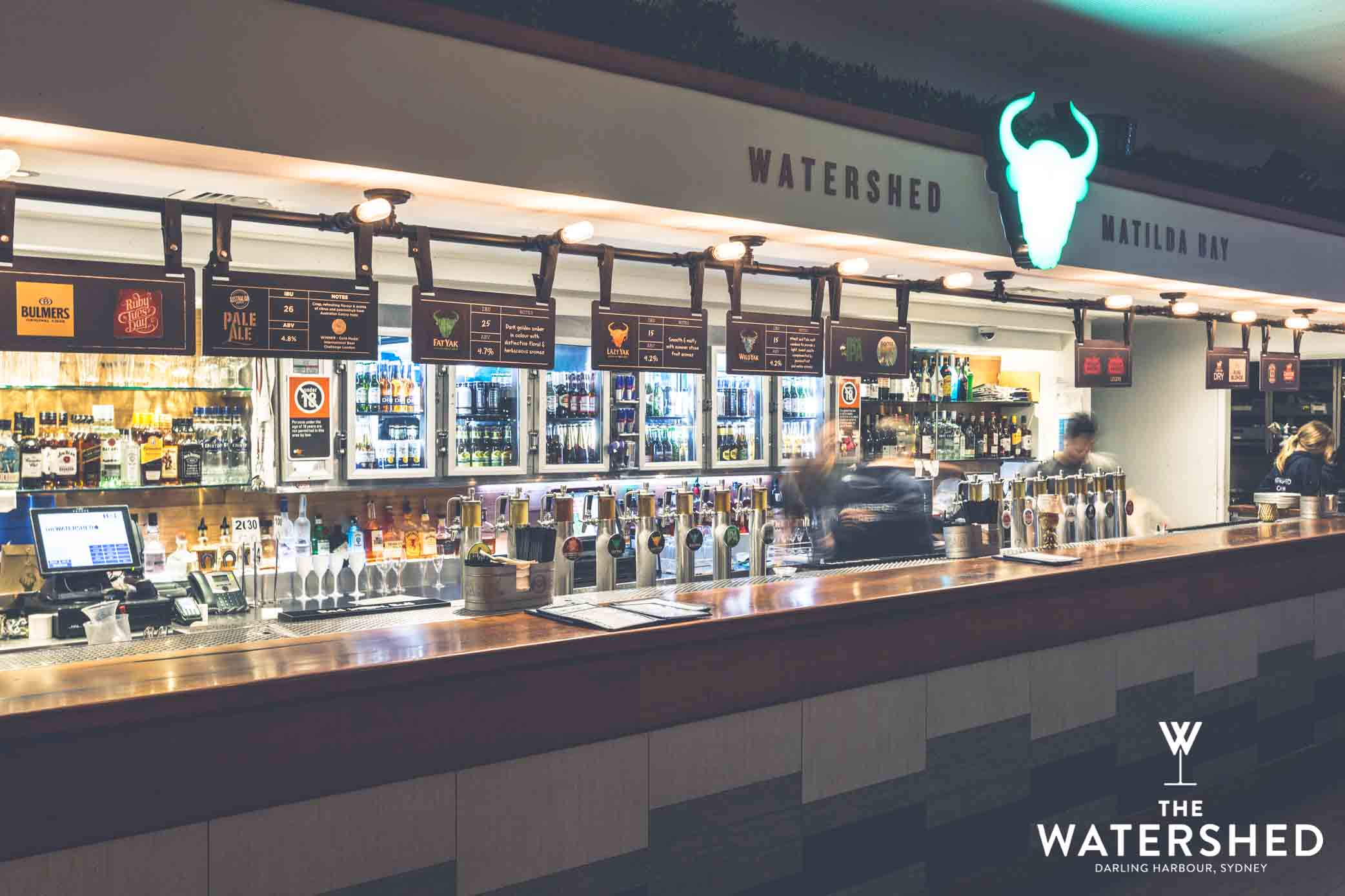 Watershed – Harbourside Rooftop Bar