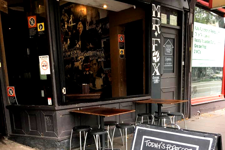 Mr Fox – Cocktail and Tapas Bar