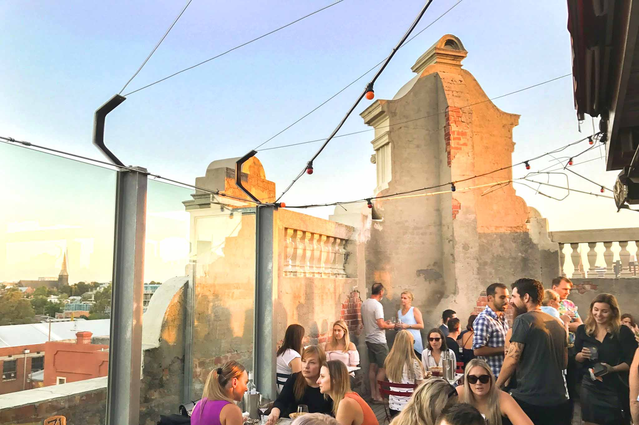 Naked for Satan – Rooftop Bars