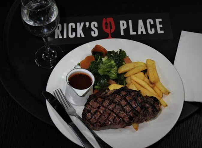 Rick's Place <br/> Best Italian Restaurants