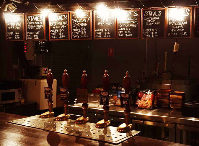 Staves Brewery <br/> Top Microbreweries