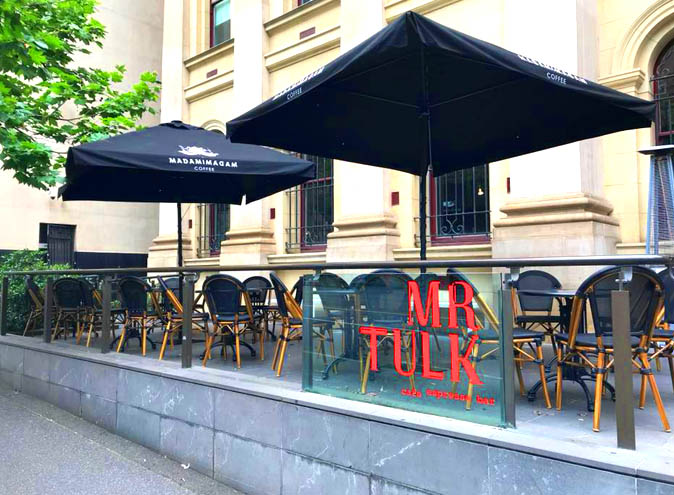 Mr Tulk – Cafes for Productivity