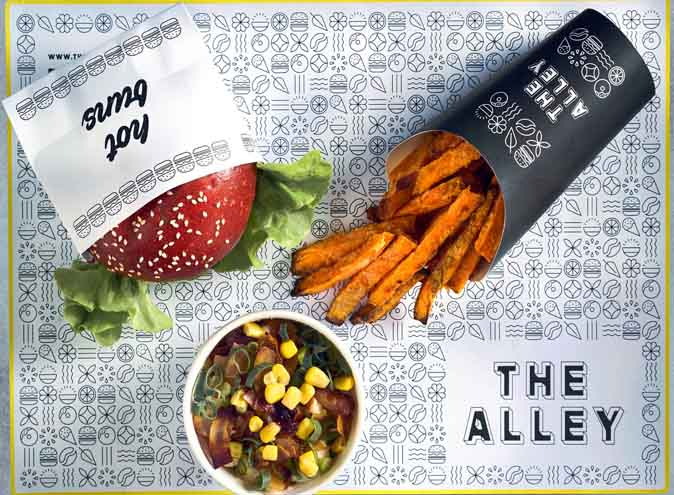 The Alley <br/> Top Vegan Cafes