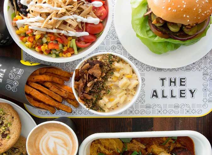 The Alley – Cool Vegan Cafes