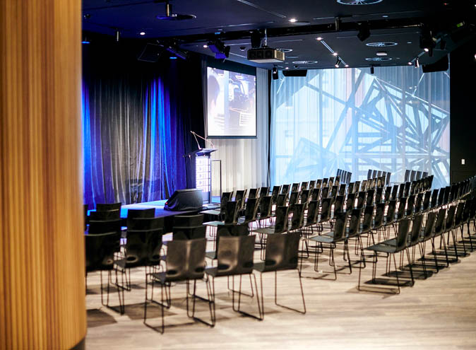 ACMI function rooms melbourne venues cbd federation square venue hire large big party room corporate event gallery seminar workshop meeting team 004 6