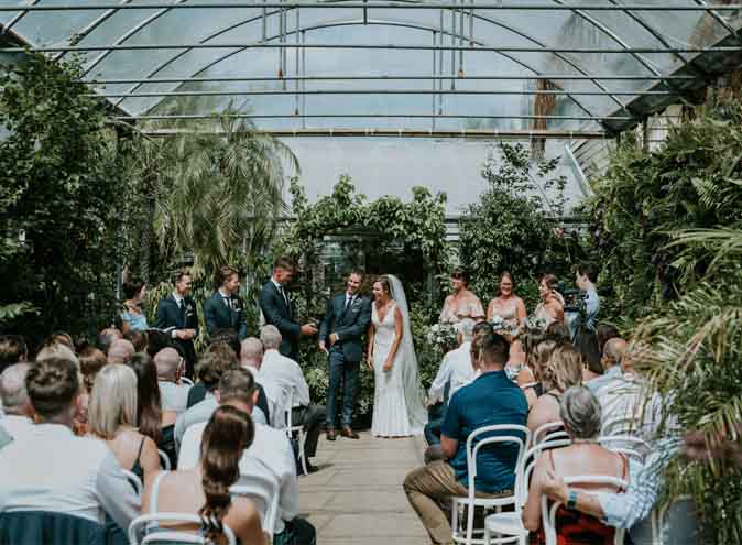 Glasshaus Outside – Wedding Venues