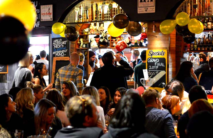 Great Northern Hotel <br/> Top Melbourne Sports Bar