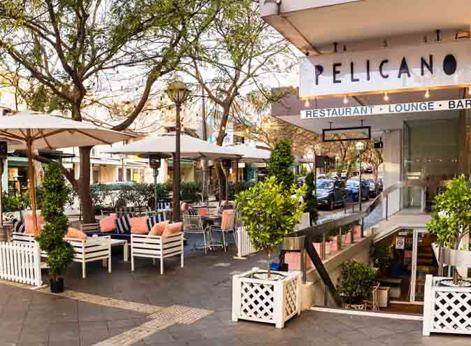 Pelicano <br/>Best Al Fresco Dining