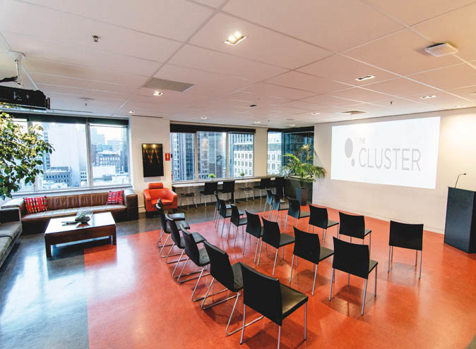 The Cluster <br/> Corporate Function Spaces