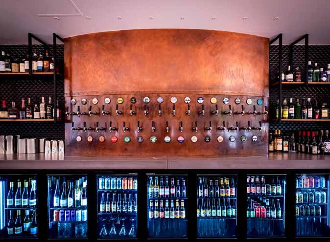 The Osbourne Hotel <br/> Large Outdoor Bars