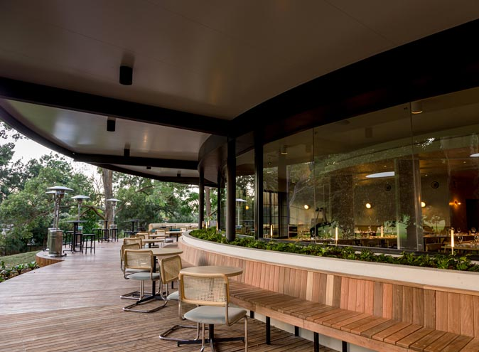 Terrace on the Domain – Outdoor Dining