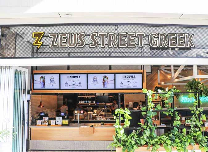 Zeus <br/> Healthy Eats Restaurants