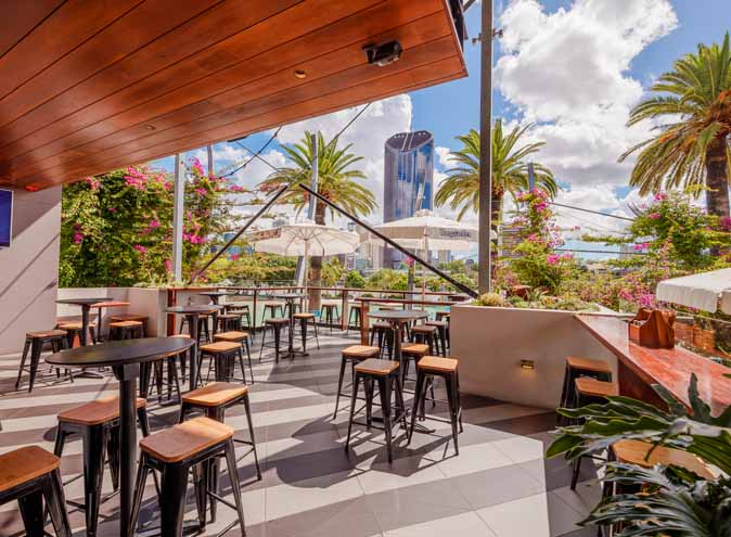 Southbank Beer Garden – Waterfront Bars