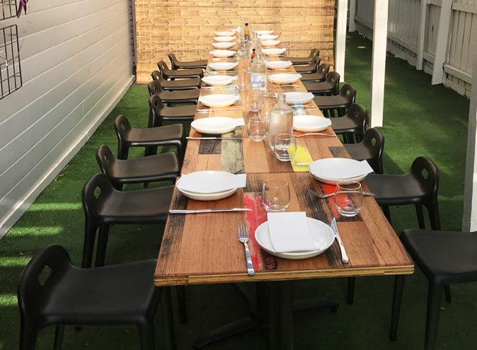 Mama Blu's Kitchen – Outdoor venues