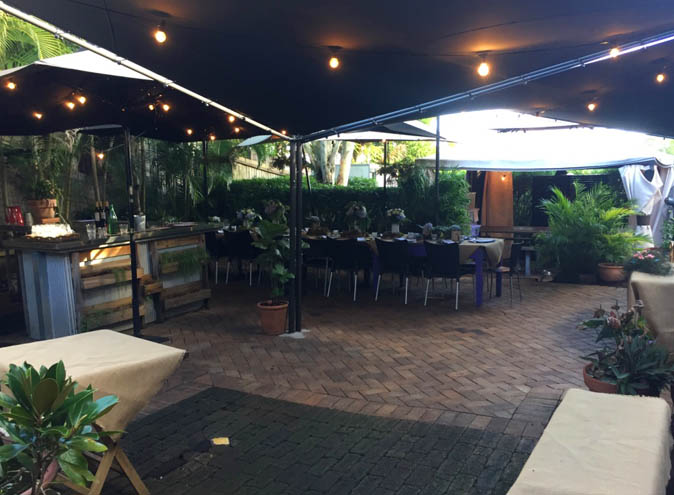 Sassafras of Paddington – Cafe Garden Venues