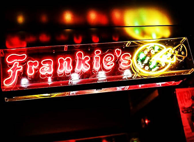 Frankie's Pizza <br/> Best Live Music Bars