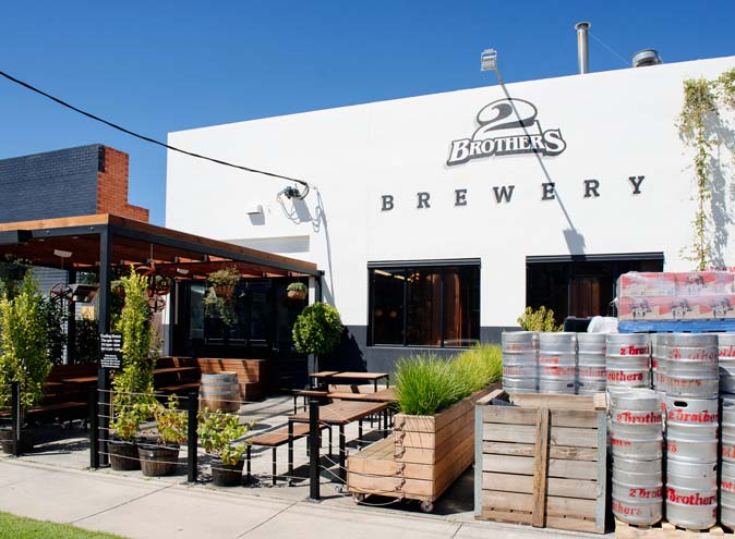 2 Brothers Brewery – Beer Gardens