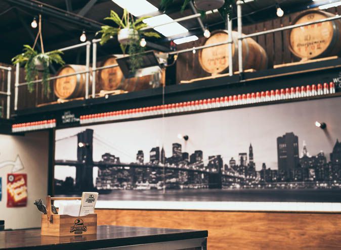 2 Brothers Brewery <br/> Best Beer Gardens
