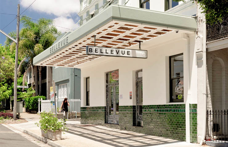 The Bellevue Hotel – CBD Restaurants