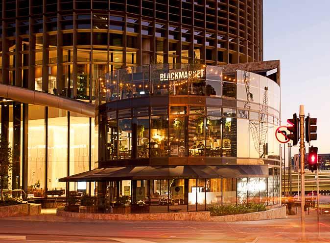 Blackmarket Bar & Grill – Rooftop Bars