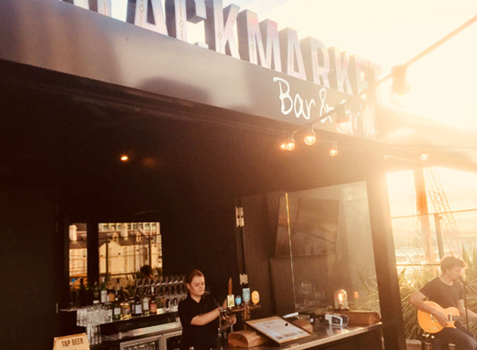 Blackmarket Bar & Grill – Rooftop Hire