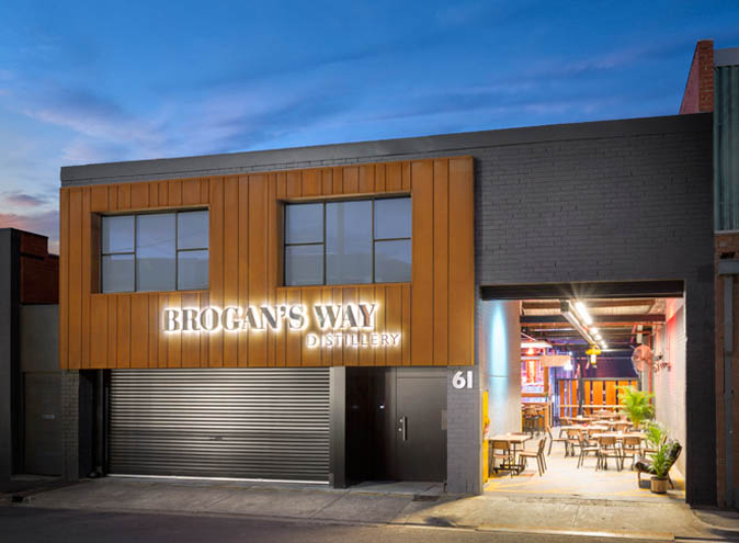 Brogan's Way Distillery – Top Warehouses