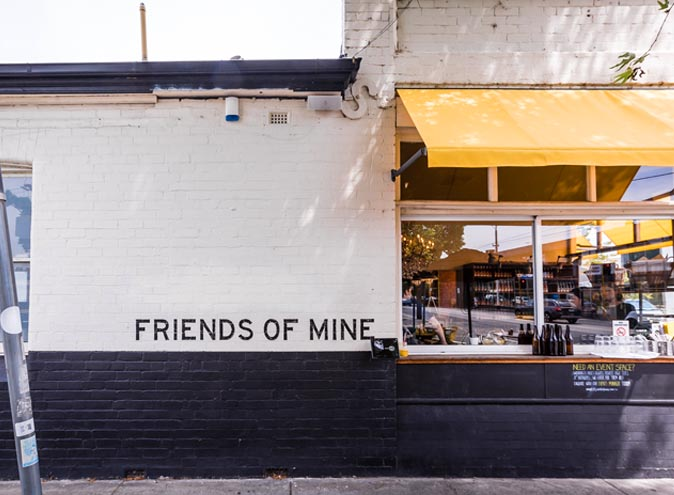 Friends of Mine – Cafe Function Space
