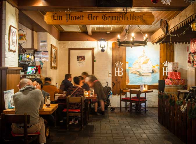 Hofbrauhaus – German/Bavarian Restaurants